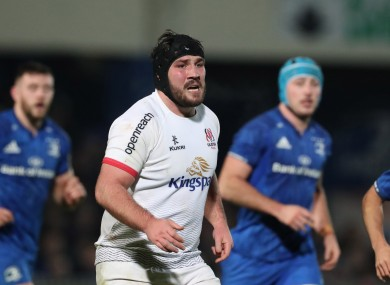 Tom O'Toole returns to Ulster's squad after injury.