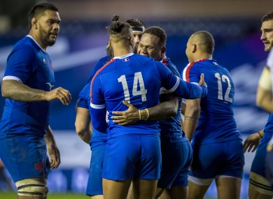 Les Bleus are on course to top Group B of the Autumn Nations Cup.