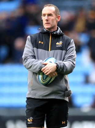 Ian Costello joined Wasps in 2018.