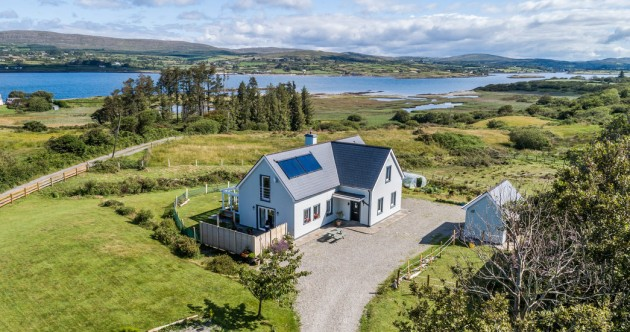 Postcard-perfect West Cork views at this modern hideaway on the bay