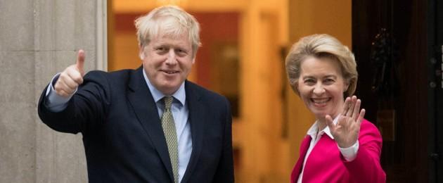 Boris Johnson and Ursula von der Leyen are to meet today