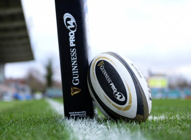Five fixtures in the Pro14 have been rescheduled.