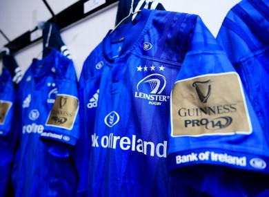 Leinster are due to play Connacht on Saturday.