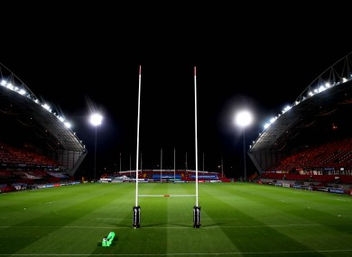 Munster and Leinster were due to clash at Thomond Park on St Stephen's Day.