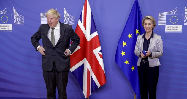 Brexit: 'Large gaps' remain after tonight's talks end between Johnson and von der Leyen