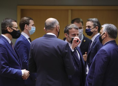 EU leaders such as Emmanuel Macron and Viktor Orban clashed during the talks.