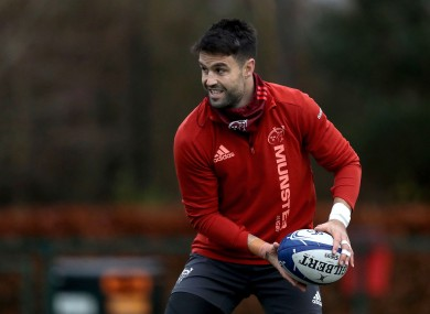 Murray has been a key man for Munster over the past decade.