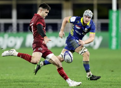 Murray in action against Clermont tonight.