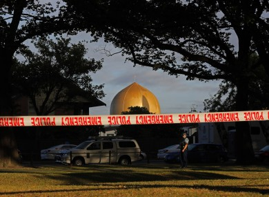 The Masjid Al Noor mosque, where one Christchurch's two mass shootings occurred.