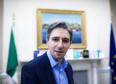 Higher Education Minister Simon Harris