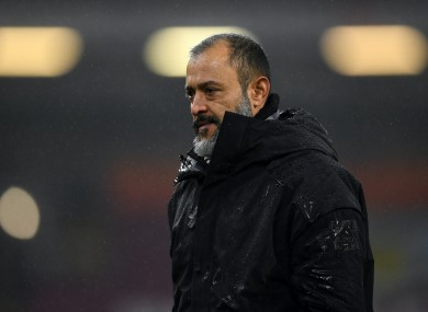Wolves manager Nuno Espirito Santo has been charged by the FA.