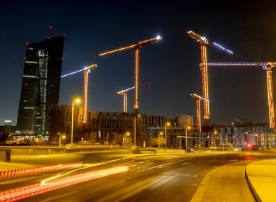 The European Central Bank's Frankfurt HQ