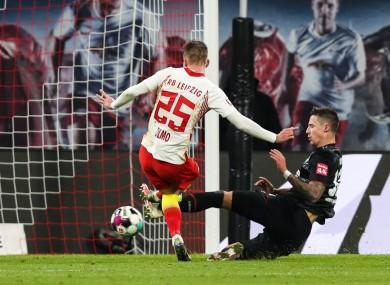 Leipzig have gone top of the Bundesliga.