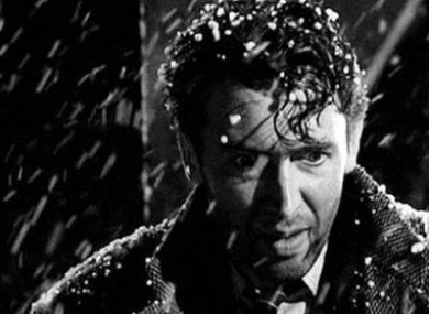 James Stewart in It's A Wonderful Life.