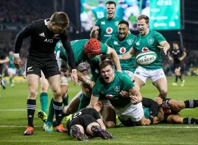 Ireland have never beaten the All Blacks on Kiwi soil.