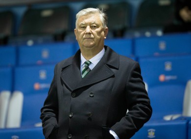 Celtic CEO Peter Lawwell.