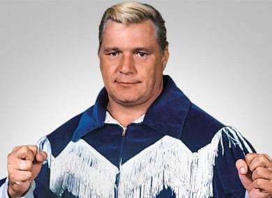 Pro wrestling legend Pat Patterson.