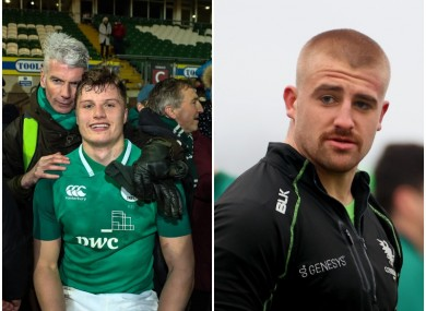 Cian Prendergast and Jordan Duggan made their European debuts last weekend.