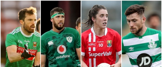 Chris Barrett, Caelan Doris, Ciara O'Sullivan and Jack Byrne are some of the players in action this weekend.