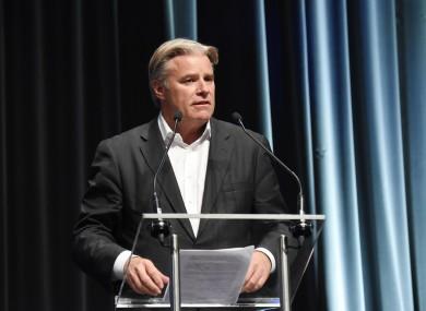 World Rugby CEO Brett Gosper.