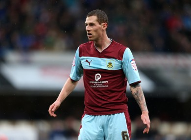 Chris McCann spent eight years with Burnley.