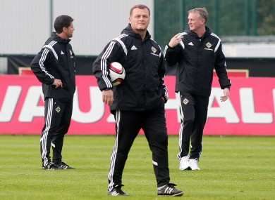 New job: Jim Magilton.