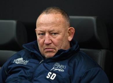Sale Sharks Director of rugby Steve Diamond.