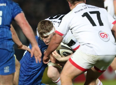Regan made his Ulster debut a year ago but is now making progress in New Zealand.