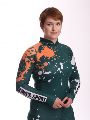 Elsa Desmond recently became the first woman to compete for Ireland internationally in luge.
