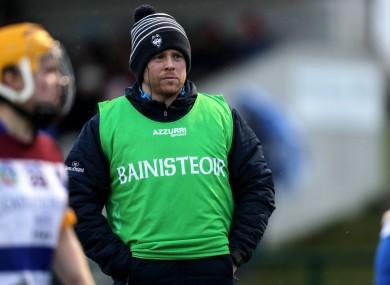 New Dublin camogie manager Adrian O'Sullivan.