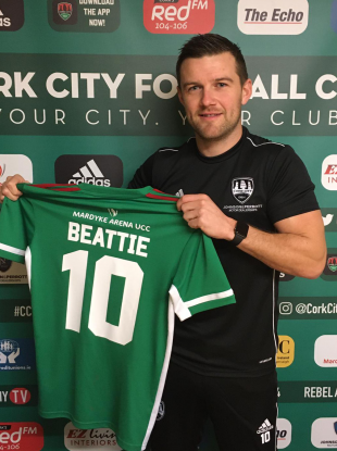 Steven Beattie is back on Leeside.