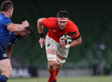 Billy Holland is among the Munster players out of contract this summer.