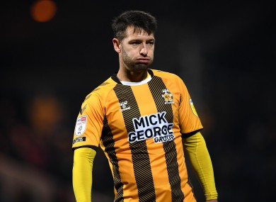 Cambridge United's Wes Hoolahan (file pic).