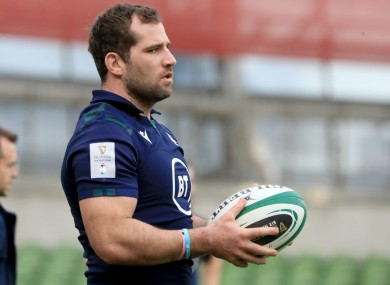 Fraser Brown will miss the Six Nations.