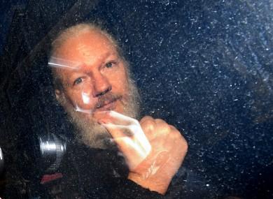 File image of Julian Assange.