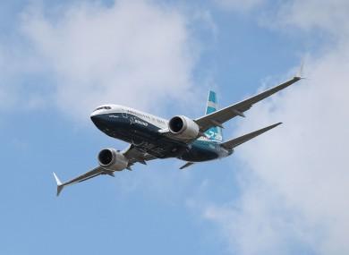 File photo - Boeing 737 Max