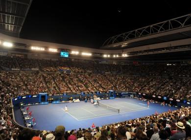 The Australian Open is set to begin in February.