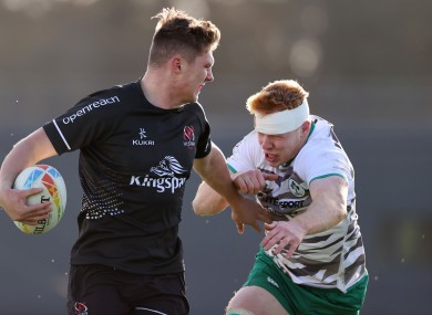 Hyde will start for Ulster 'A' tomorrow.