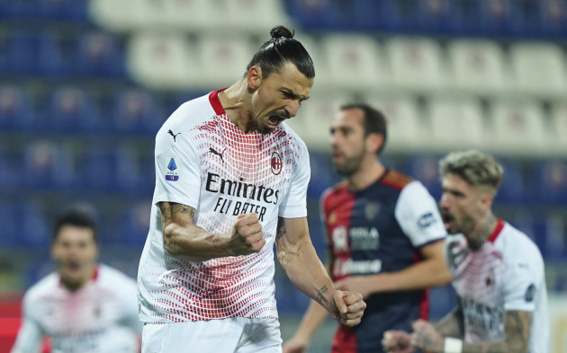 Zlatan picks up where he left off in November to pull Milan clear of neighbours Inter atop Serie A