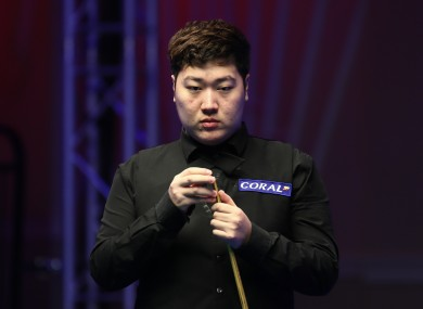 Yan Bingtao is closing in on a maiden title