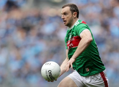 Keith Higgins has retired from Mayo football.