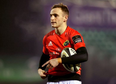 McCarthy helped Munster to beat Benetton yesterday.