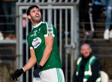 File photo of MacNiallais in action for Gaoth Dobhair.