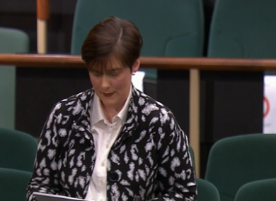 Education Minister Norma Foley.