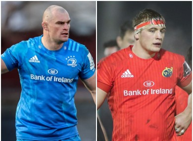 Rhys Ruddock and Gavin Coombes have been in superb form for their provinces.