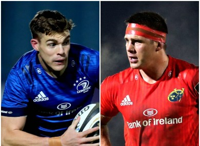 Garry Ringrose returns for Leinster, while CJ Stander is set for his 150th Munster cap.