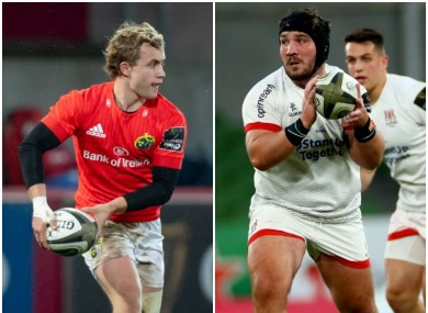 Casey and O'Toole have been included in Ireland's squad.