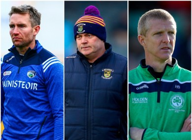 Brennan, Daly and Shefflin are some of the key figures involved.