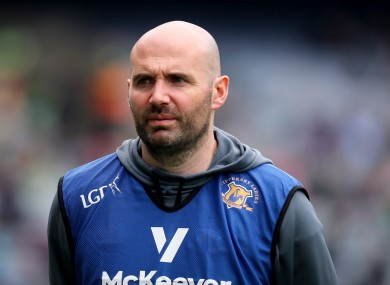 New Waterford men's manager Shane Ronayne.