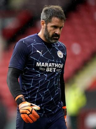 City's back-up goalkeeper Scott Carson.